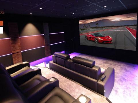 Salle de cinéma privée » Le Garage»