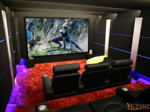 Salle de cinéma & Maison domotique